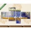 Képáruház.hu Pierre Auguste Renoir: Csónakázó hölgyek a Szajnán(125x70 cm, S02 Többrészes Vászonkép)