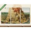 Képáruház.hu Pieter Brueghel id.: Bábel tornya(125x70 cm, L01 Többrészes Vászonkép)