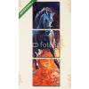 Képáruház.hu Premium Kollekció: Blue horse(125x40 cm, B01 Többrészes Vászonkép)