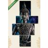 Képáruház.hu Premium Kollekció: Bouddha(125x70 cm, S02 Többrészes Vászonkép)