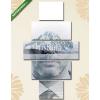Képáruház.hu Premium Kollekció: Businessman on landscape background(135x70 cm, S01 Többrészes Vászonkép)