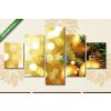Képáruház.hu Premium Kollekció: Karácsonyi díszek(135x70 cm, S01 Többrészes Vászonkép)