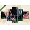 Képáruház.hu Premium Kollekció: Man betting on the casino(135x70 cm, S01 Többrészes Vászonkép)