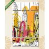 Képáruház.hu Premium Kollekció: New York Sketch(135x80 cm, W01 Többrészes Vászonkép)