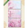Képáruház.hu Premium Kollekció: Painting pink Japanese cherry - sakura floral Spring blossom bac(125x60 cm, L02 Többrészes Vászonkép)