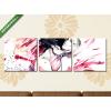 Képáruház.hu Premium Kollekció: passion(125x40 cm, B01 Többrészes Vászonkép)