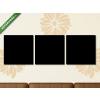 Képáruház.hu Premium Kollekció: Világtérkép tipográfusban szó felhő koncepció, országnevek(125x40 cm, B01 Többrészes Vászonkép)