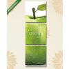 Képáruház.hu Premium Kollekció: Zöld Apple rajz(125x40 cm, B01 Többrészes Vászonkép)