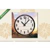Képáruház.hu Vászonkép óra, Albert Bierstadt: A Yosemite völgyben(25x25 cm, C01)