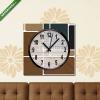 Képáruház.hu Vászonkép óra, Premium Kollekció: Abstract retro blocks design background colorful, Vector(25x25 cm, C01)