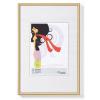 """. Képkeret, műanyag, 10 x15 cm,  """"New  Lifestyle"""", arany"""