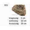 Kerámia M041 saroktál 'L' 25x22x6