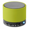 Kerek Bluetooth hangszóró, lime