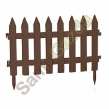 Kerítés IPLSU barna 7db/cs 350x3220mm kerti dekoráció