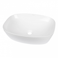 Kerra KR-640 kerámia design mosdó 51x39,5x14 cm, fehér fürdőszoba kiegészítő