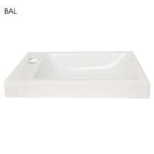 Kerra RIMINI-L Rimini kerámia design mosdó, balos beépítéssel 43x23 cm fürdőkellék