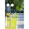 Kerti lámpaoszlop 2 lámpával, 220cm.