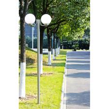 Kerti lámpaoszlop 2 lámpával, 220cm. kültéri világítás