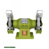 kettős köszörűgép 150W,száraz,125×12,7×16mm, 2950 ford/perc, P36, P80, 6kg