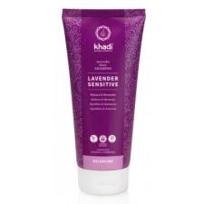 Khadi Lavender Sensitive sampon ayurvédikus elixírrel, 200 ml sampon