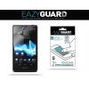 Kijelzővédő fólia, Sony Xperia T, Eazy Guard, Clear Prémium / Matt, ujjlenyomatmentes, 2 db / csomag