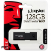 Kingston 128gb data traveler 100 dt100g3/128gb fekete pendrive