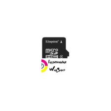 Kingston 16GB microSDHC Kingston CL4 + adapter (SDC4/16GB) memóriakártya