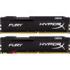 Kingston 2x8gb ddr4 3200mhz hyperx fury black hx432c18fb2k2/16 memória