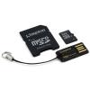 Kingston 32Gb micro SDHC Card + Adapter + USB Reader
