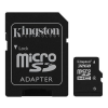 Kingston 32GB Micro SDHC CL4 SDC4/32GB Memóriakártya + adapter (Élettartam garancia)