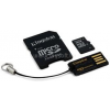 Kingston 32GB SD micro (SDHC Class 10) memória kártya adapterrel (MBLY10G2/32GB)