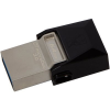 Kingston 64GB Micro Duo USB 3.0 + micro USB OTG pendrive - Fekete