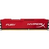 Kingston 8 GB DDR3 SDRAM 1600 MHz HyperX Fury CL10 Red