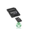 Kingston 8GB microSDHC CL4 + adapter (SDC4/8GB) (SDC4/8GB)