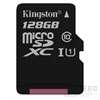 Kingston Canvas Select microSDXC 128GB (Class 10), UHS-I memóriakártya adapterrel (SDCS/128GB)