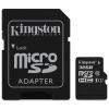 Kingston Card MICRO SD Kingston 32GB Canvas UHS-I CL10 adapter nélkül