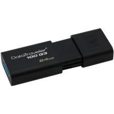 Kingston DataTraveler 100 G3 64 gigabyte-fekete pendrive