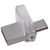 Kingston DataTraveler microDuo 3C 64GB USB 3.1 és USB 3.1 Type C Ezüst