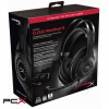 Kingston hyperx cloud revolver s hx-hscrs-gm/em gun metal gaming headset