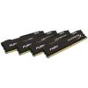 Kingston HyperX Fury Black 16GB 2666MHz DDR4 memória Non-ECC CL15 Kit of 4