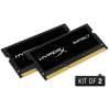 Kingston HyperX Impact 16GB 1866MHz DDR3 - SODIMM memória CL11 Kit of 2 1,35V