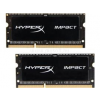Kingston Memória HYPERX DDR3L 16GB 1600MHz CL9 SODIMM (2x8GB) 1.35V Impact Black (HX316LS9IBK2/16)