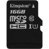 "Kingston Memóriakártya, Micro SDHC, 16GB, Class 10, UHS-I, 80/10MB/s, adapter nélkül, KINGSTON ""Canvas S"