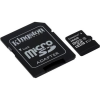 "Kingston Memóriakártya, Micro SDHC, 16GB, Class 10, UHS-I, 80/10MB/s, adapterrel KINGSTON ""Canvas Select"""