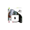 Kingston Memóriakártya, microSDHC, 16GB, CL10/U1/A1, KINGSTON  Canvas Select Plus