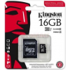 Kingston Memóriakártya MicroSDHC 16GB CLASS 10 UHS-I Industrial Temp + Adapter SDCIT/16GB