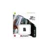 Kingston Memóriakártya, microSDHC, 32GB, CL10/U1/A1, KINGSTON  Canvas Select Plus