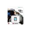 Kingston Memóriakártya, SDXC, 128GB, C10/UHS-I/U3/V30/A2, KINGSTON  Canvas Go! Plus