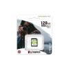 Kingston Memóriakártya, SDXC, 128GB, CL10/U1, KINGSTON  Canvas Select Plus