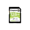 "Kingston Memóriakártya, SDXC, 128GB, Class 10, UHS-I, 80/10MB/s, KINGSTON ""Canvas Select"""